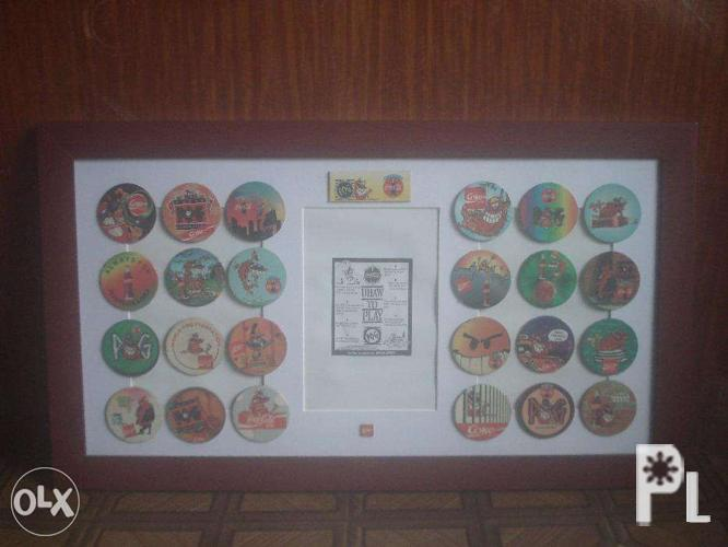 1 Complete Set of 1990s Coca Cola POGS