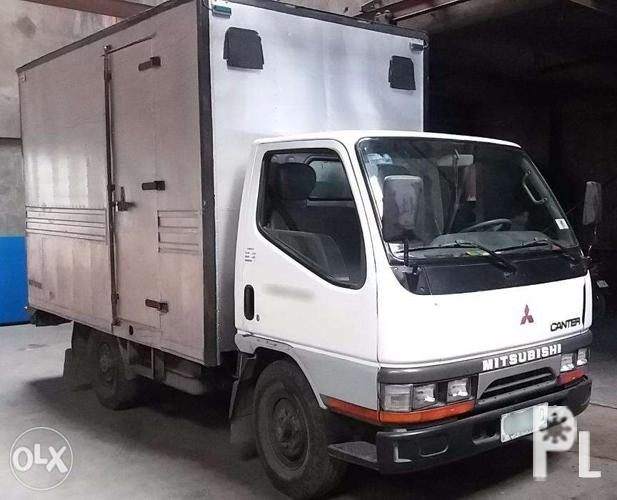c32574b235 2003 Mitsubishi Canter Closed Van Truck for Sale in Caloocan City ...