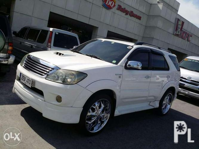 2006 toyota fortuner 4x4 sale or swap for Sale in Baguio