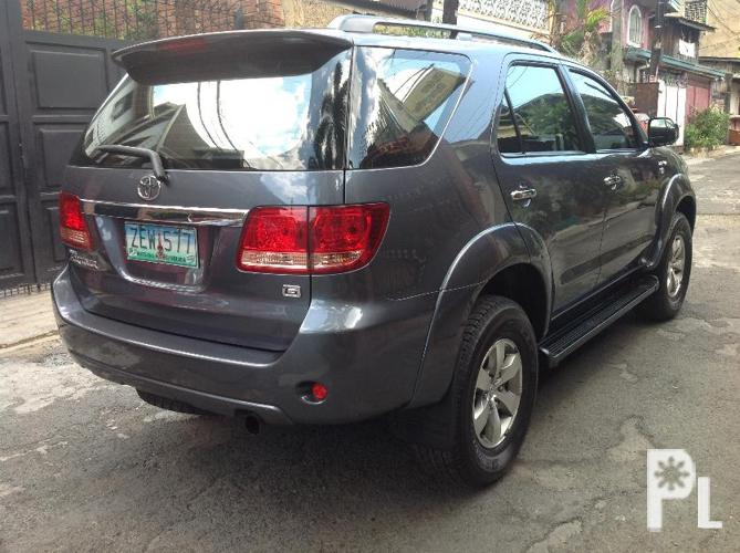 2006 Toyota Fortuner G Manila For Sale In Manila