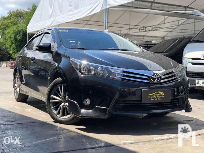 2014 Toyota Corolla Altis 1.6V AT Gas. 1st Owner. Casa