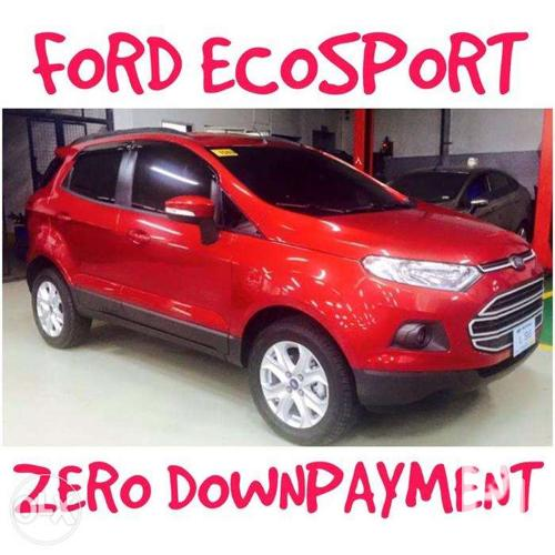 Image Result For Ford Ecosport Zero Down Payment