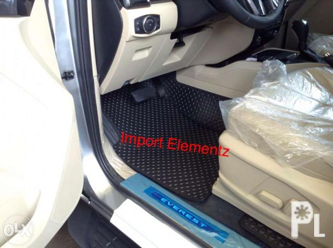 Ford Everest 2016 Matting 2016 Ford Everest Full Car