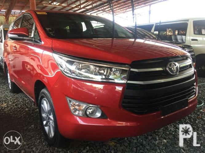 2016 Toyota Innova 2000 E Mt Red For Sale In Quezon City National