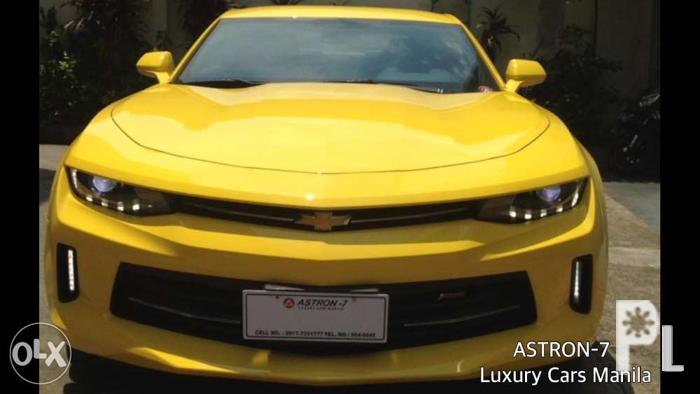 2017 brandnew chevrolet camaro rs full options for sale in quezon city national capital region. Black Bedroom Furniture Sets. Home Design Ideas