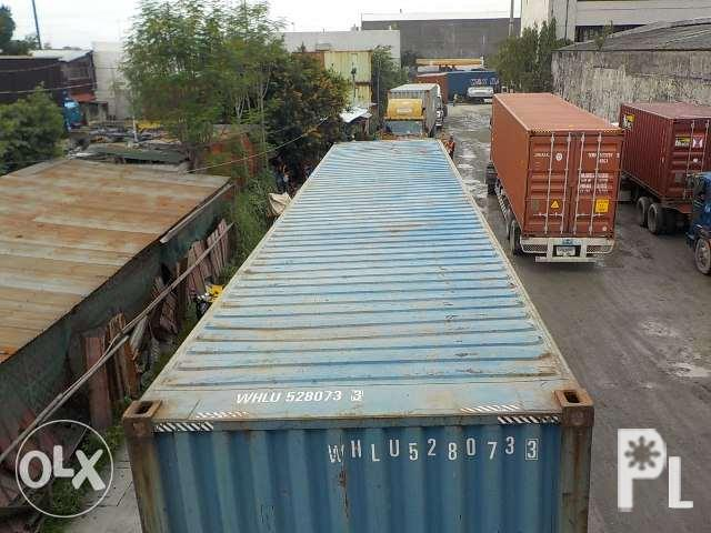 20ft 40ft Container Van W Delivery For Sale In Manila