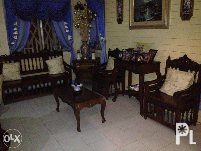 4piece Sala Set Made Of Narra Wood_5415700 on Narra Sala Set For Sale In The Philippines