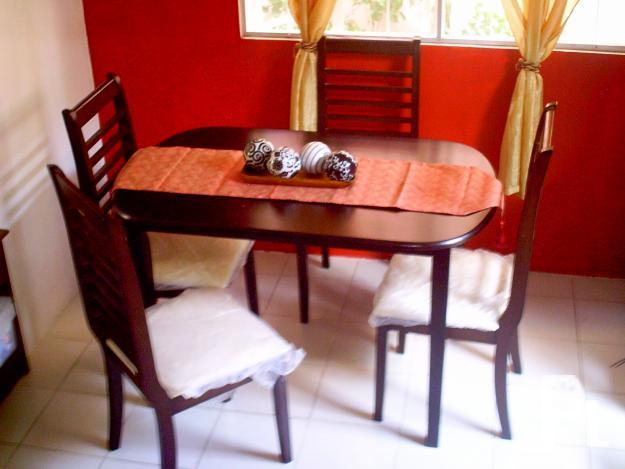 4 Seater Oval Malaysian Wood Dining Set chairs still  : 4seaterovalmalaysianwooddiningsetchairsstillwithplasticfromstore14528 from bacoor.philippineslisted.com size 625 x 469 jpeg 126kB