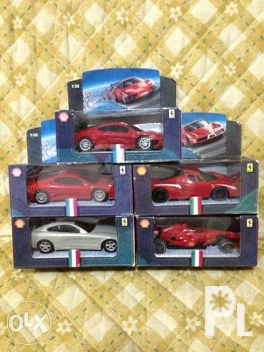 5 Shell Toy Cars Swap To Unioil Mercedes Benz White Toy Car For Sale