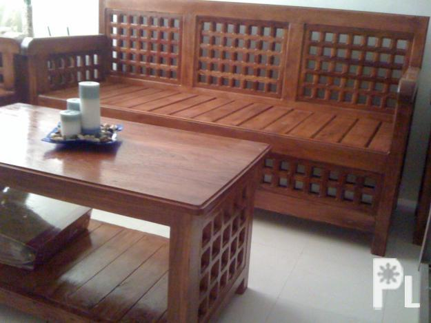 6 pcs narra sala set cordon for sale in cordon cagayan for Sale bedroom furniture in the philippines