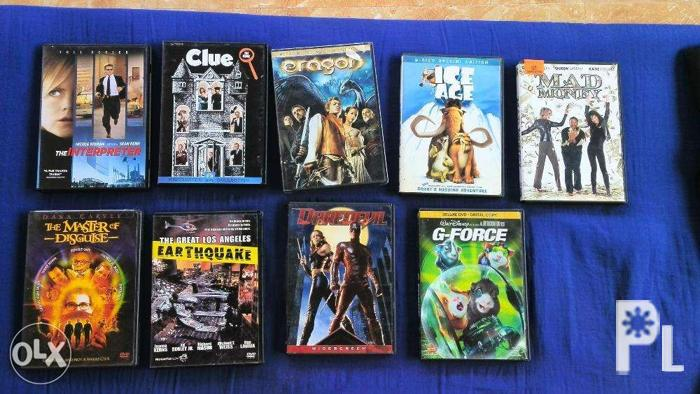 7 Movie Film DVDs for sale