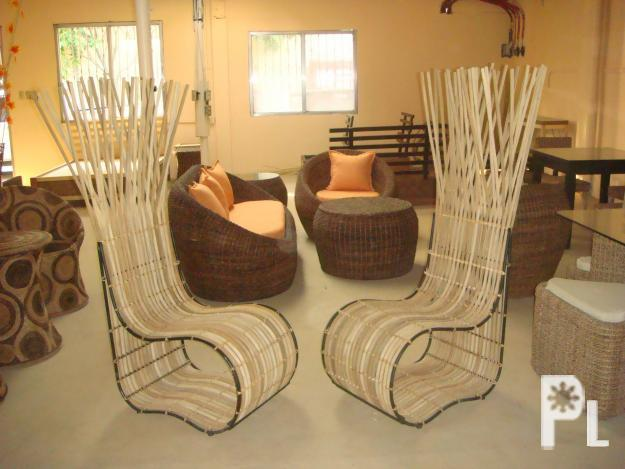 Accent Chairs, Wrougth Iron Chairs, Rattan Accent