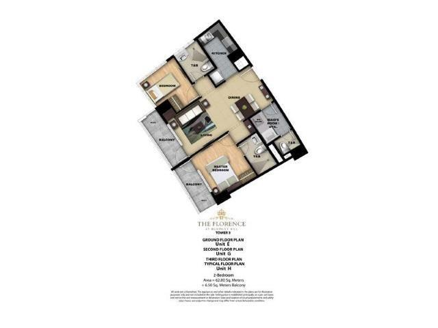 Affordable 2br condo in mckinley hill near bgc no dp!