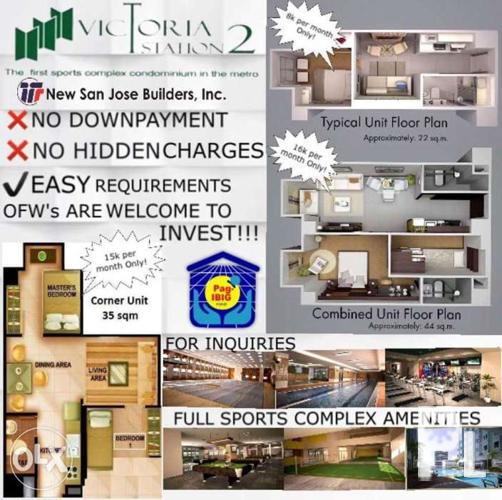 Affordable rent to own condo in quezon city for sale in for Affordable furniture quezon city