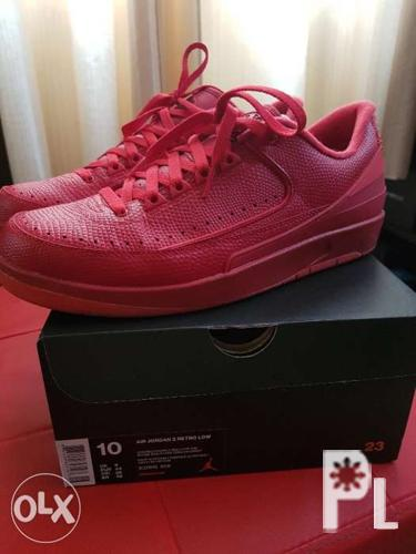 first rate ea61a 18ea8 Air jordan 2 Low retro ( red / size 10 / A1 condition ) for ...