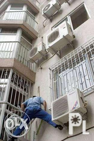 Aircon repair Cleaning install Quezon city taguig