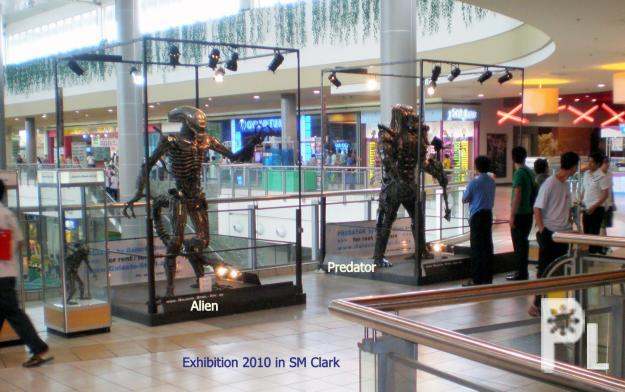 ALIEN and PREDATOR, giant, awesome Steel Art Sculptures