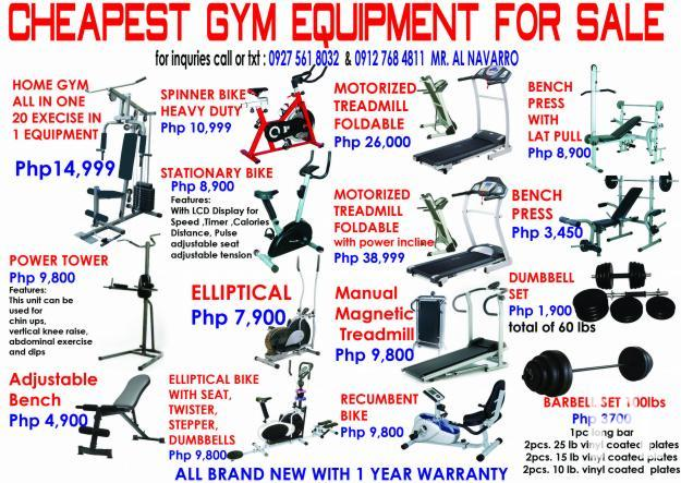 ALL KINDS OF GYM EQUIPMENT for Sale in Manila, National ...