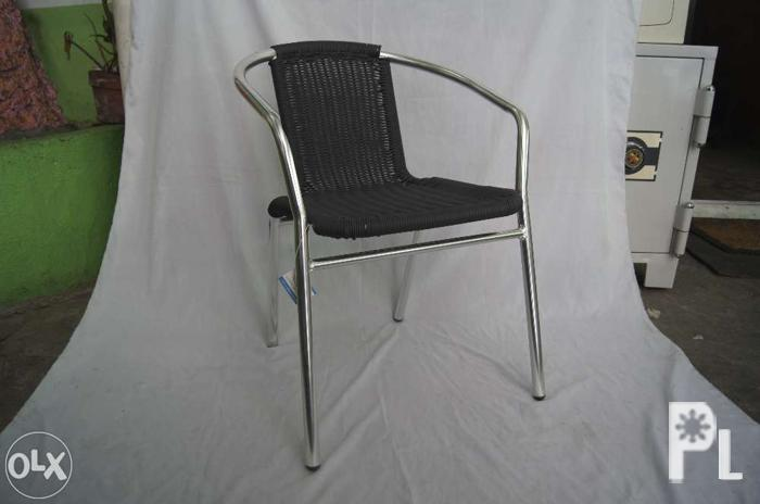 Aluminum Wicker Chair Home Furniture Cafe Chairs AWC 101 For Sale In Manila