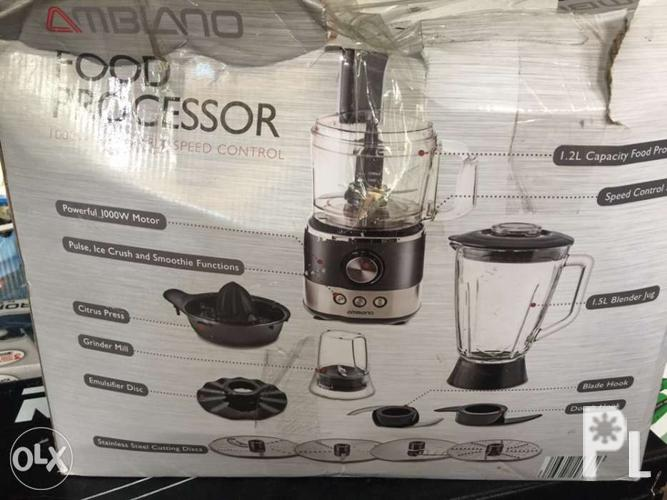 Ambiano food processor for Sale in Quezon City, National