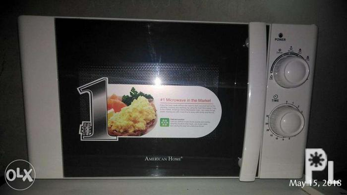 American Home Amw 25 Microwave Oven For
