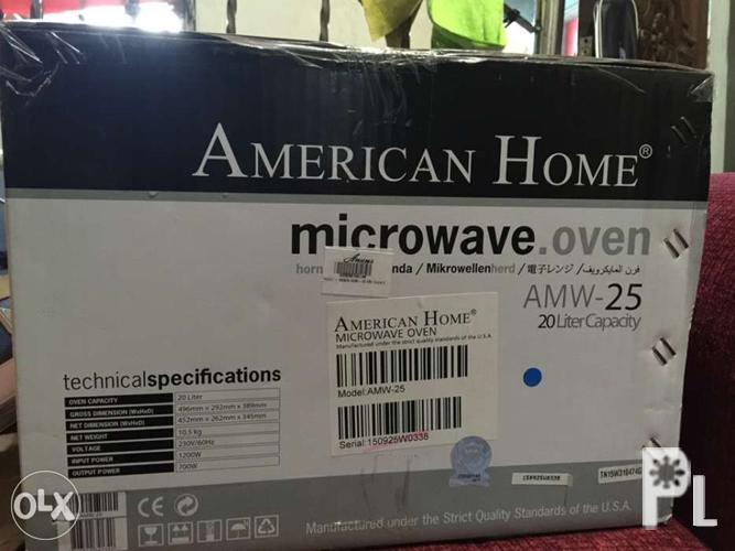 American Home Microwave Oven Amw 25