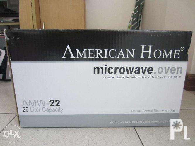 American Home Microwave Oven Amw22 20l