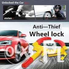Anti Thief car wheel clamp available and on hand stock