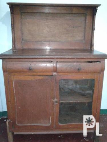 Antique Wood Furniture Aparador Platera Old Wood Etc For Sale For Sale In Quezon City