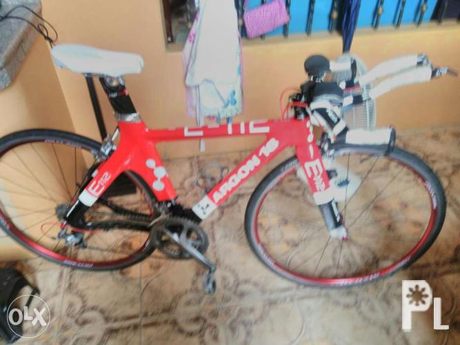 Argon 18 e112 time trial bike(Triathlon) full carbon for