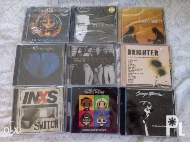 Assorted cds all for 850