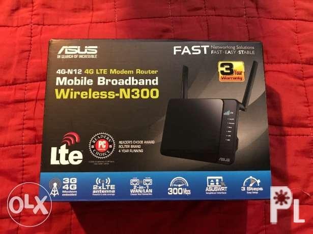 df6195a981c Asus 4g N12 Lte Modem Router In Manila National Capital