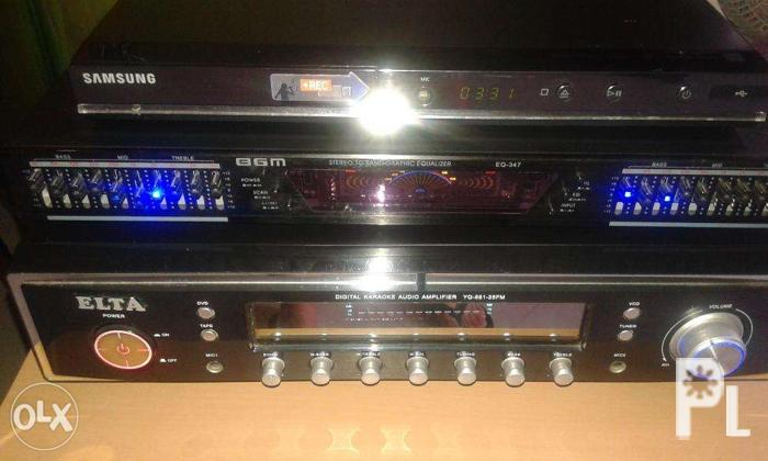Audio Amplifier, Band Graphic Equalizer for Sale in Bacoor