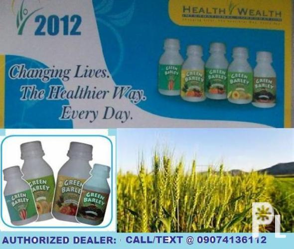 Authorized Dealer of Green Barley
