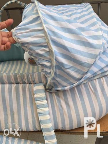 Baby basket bed