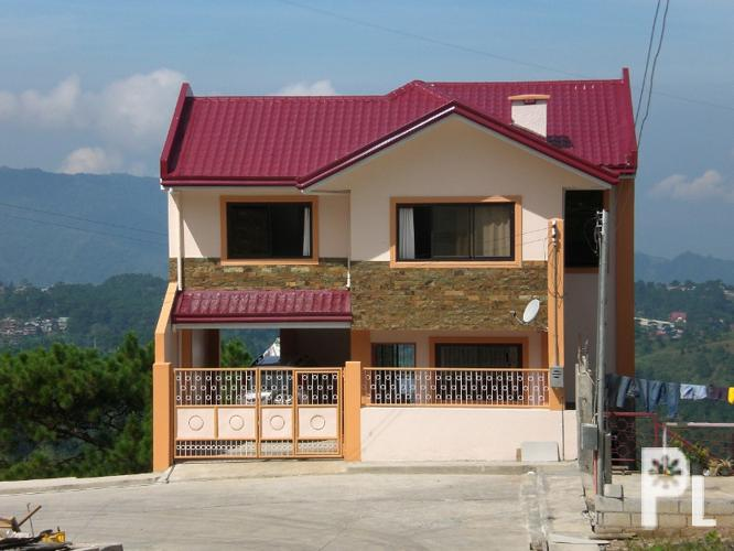 Baguio House Lot With Overlooking View Of South China