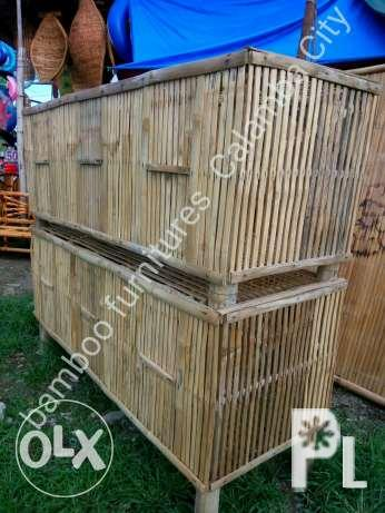 Bamboo Cage (kulungan) chicken panabong rooster
