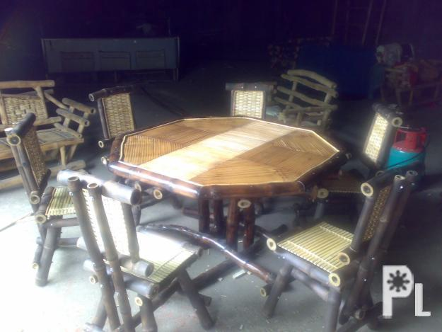 bamboo dining set bamboo furnitures for Sale in Malita  : bamboodiningsetbamboofurnitures80222 from davao-city.philippineslisted.com size 625 x 469 jpeg 114kB