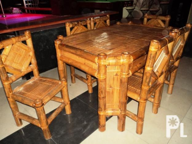 Bamboo Furniture Range For Sale In Angeles City Central