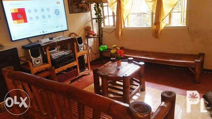 Bamboo sala set for sale in talisay city central visayas for Sala set for sale
