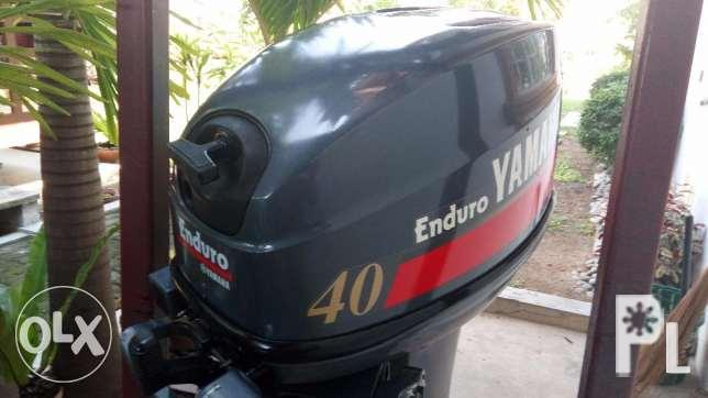 Boat Outboard Engine: Yamaha Enduro 40hp for Sale in Manila