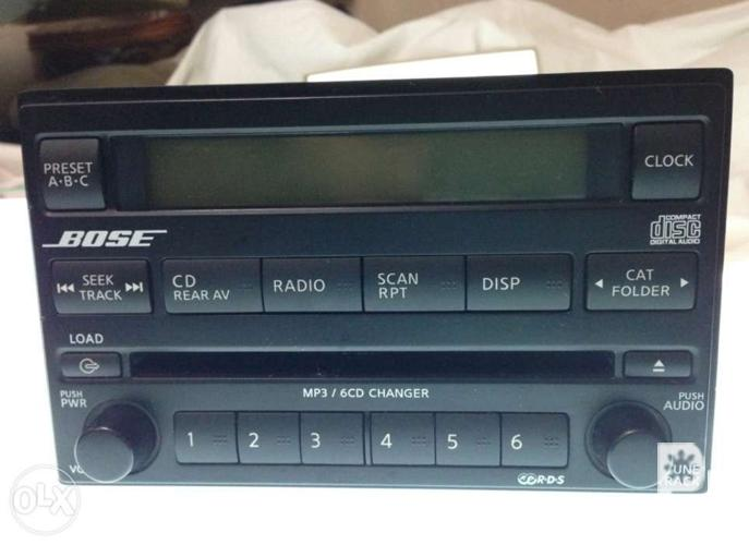 Bose Car Stereo >> Bose Car Stereo Receiver Indash Doubledin Mp3 6 Cd Changer For Sale