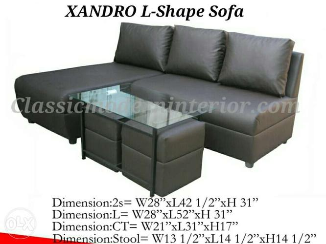 Brand New Sala Set Sofa Set Xandro With Center Table For Sale In Cainta Calabarzon Classified