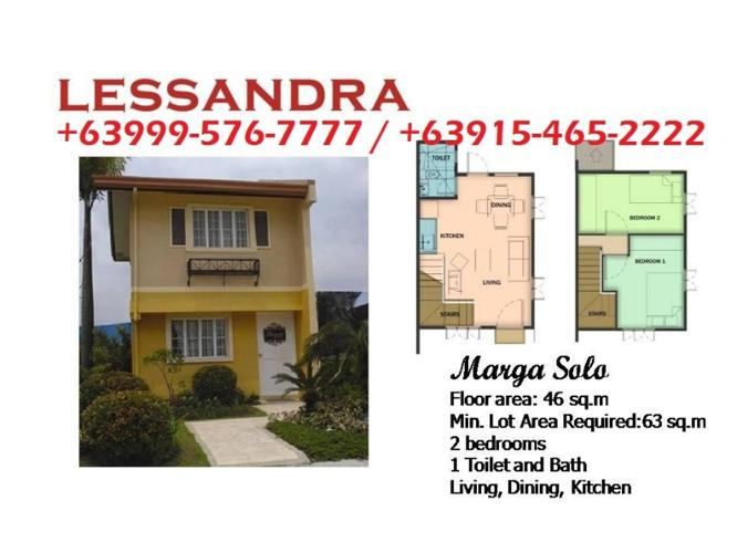 Camella Bohol 2 Bedroom Marga House Tagbilaran City Pagadian City For Sale In Pagadian City