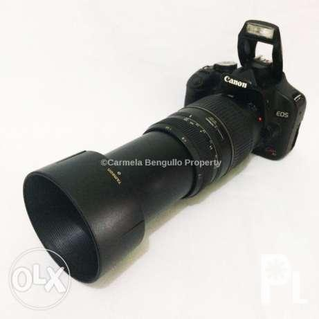 Canon 500D With Tamron 70-300mm Macro Lens