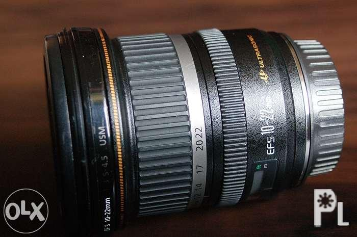 Canon EF-S 10-22 F3 5-4 5 Ultra Wide Angle Lens, Trade OK for Sale