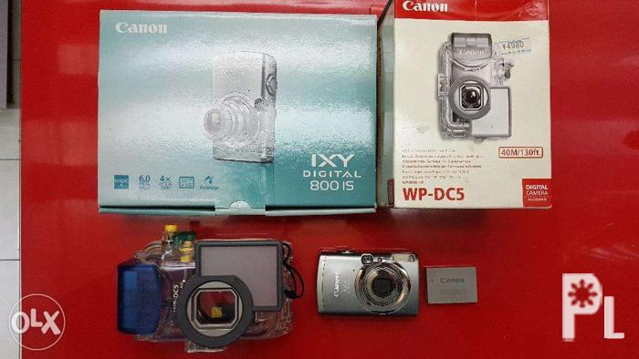 Canon Ixy 800IS Digicam 6MP With Waterproof Housing