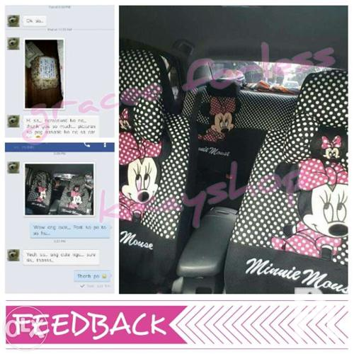 Car Seat Cover Minnie Mouse Mickey