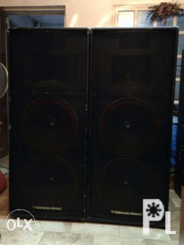 Cerwin Vega Speakers with Power Amp for Sale in Taguig City