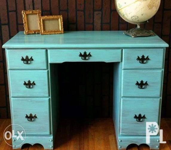 Chalk Paint Finish Wood Furniture For Sale In Guagua Central Luzon Classified